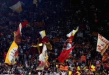 romanews-roma-curva-sud-roma-genoa-bandiere