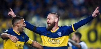 romanews-roma-daniele-de-rossi-gol-boca-juniors-almagro-primo-gol
