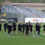 romanews-roma-gruppo-squadra-allenamento-allenamenti-trigoria