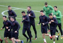romanews-roma-squadra-allenamenti-allenamento-trigoria
