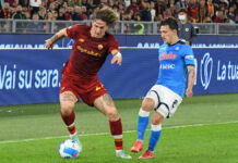 RomaNews- Roma-Napoli Zaniolo Rui